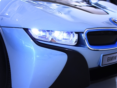 BMW i8 toy car headlight